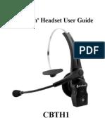Cobra CBTH-1 Head Manual