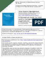 Sureshchandar, G. S., Rajendran, C. & Anantharaman, R. N. (2001). A Conceptual model for TQM in service organizations. Total Quality Management. 12(3). 343-363.pdf