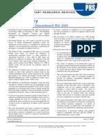 Summary 1167473278 Bill Summary the Inland Vessels Amendment Bill 2005