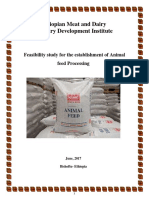 Ethiopian Meat and Dairy Industry Development Institute - Feasibility study for the establishment of Animal feed Processing.pdf