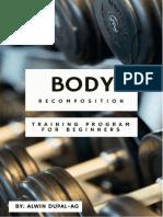 Body Recomposition Training Program.pdf