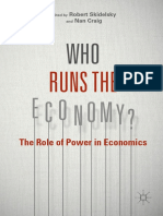 Who Runs The_Economy - The Role of Power In Economics