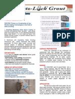 Crystalline Membrane Epoxy   Primer ES-P001 rev3