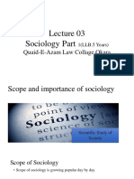 Lecture 3 Scop of Soc