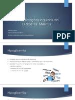 2018 - DM complicações - Claúdia Costa