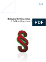 Behaviour in Competition