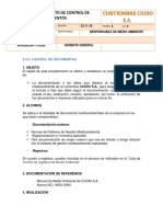 8PROCEDIMIENTO DE CONTROL DE DOCUMENTOS .docx
