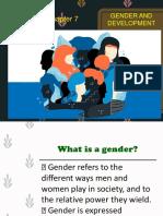 Gender and Development FINAL Report