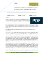 4. IJRANSS-Screening of Mycoherbicidal Potential of a Selected Fungi Against a Noxious Weed Hyptis Suaveolens a Preliminary Evaluation