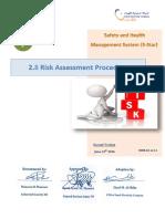 2.8- Risk assesement  V2