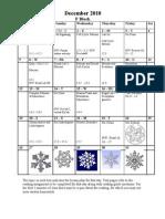 December Calendar F