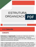 4. Estrutura organizacional