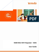 N300 miniwifi repeater