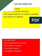 Normas de redacción.ppt.pps