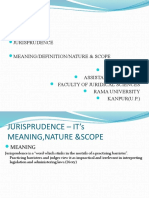 Jurisprudence - Its meaning, nature and scope.pptx