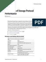Storage Protocol Perf