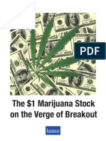 This Marijuana Stock on the Verge of Breakout