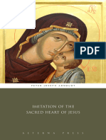 Imitation of the Sacred Heart of Jesus - Peter Joseph Arnoudt