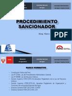 PROCEDIMIENTO SANCIONADOR -2013.pptx