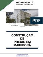 Construção de Prédio Em Mairiporã