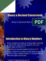 Binary & Decimal Conversions.ppt