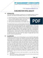 PROBLEM SOLVING FOR TOTAL QUALITY (2)