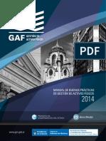 Manual de Buenas Practicas Gestion de Activos Fisicos. Edicion 2014