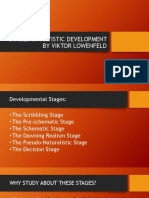 STAGES OF ARTISTIC DEVELOPMENT BY VIKTOR LOWENFELD.pptx