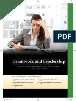 teamwork and leadership.docx