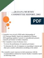 Narayana Murthy Committee Report, 2003