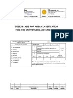 AE-SIL-301-EL-DOC-516-Area Classification Design Basis