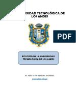 AB980 - Estatuto de la UTEA (Vigente)