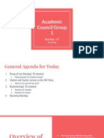 academic council meeting ppt