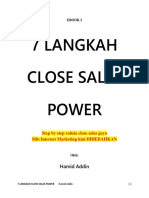 7 Langkah Close Sales Power