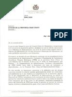 Carta Abierta a Cívicos de La Provincia Gran Chaco