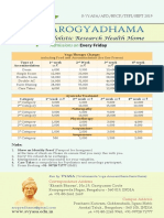arogyadhma tariff for Indians