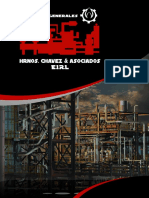 BROCHURE SERVICIOS GENERALES HERMANOS CHAVEZ & ASOCIADOS E.I.R.L