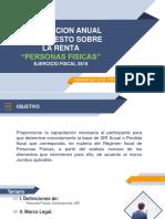 Curso Declaracion Anual de PF (Ejerc. 2018)