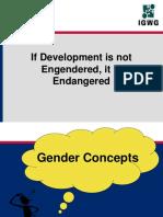 human development is endangored ,if not endangerd