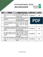 EPD 4th Quarter Env Inspection Report
