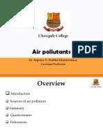 Air pollutants - source..