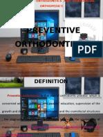 preventive orthodontics.pptx