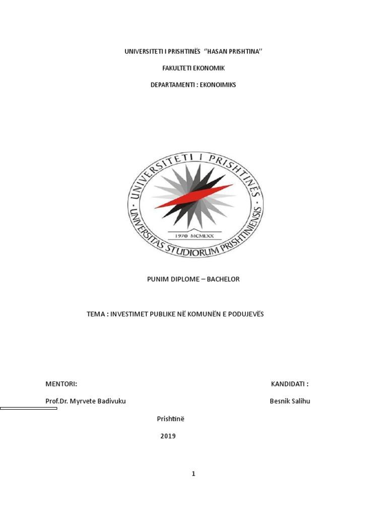Tema e Diplomes