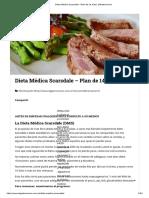 Dieta Médica Scarsdale - Plan de 14 días _ elGastronomo
