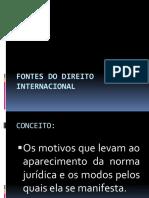 FONTES DO DIREITO   INTERNACIONAL.pptx