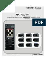 Omega Matrix 45 Users Manual