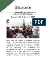 2013-06-27-INAUGURACIÓN-PROYECTO-MULTIPROPÓSITO-BABA