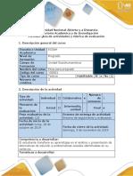 Guia de actividades y rúbrica de evaluación - Tarea 4 - Plantear propuesta de solución estudio de caso ................docx