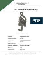 Manipulador / pinza de carga