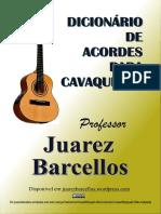 Dicionc3a1rio de Acordes Para Cavaquinho